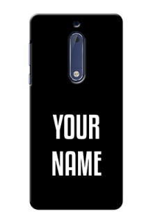 Nokia 5 Your Name on Phone Case