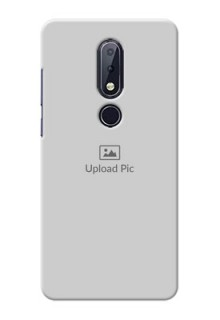 Nokia 6.1 Plus Custom Mobile Cover: Upload Full Picture Design