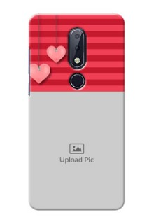 Nokia 6.1 Plus Mobile Back Covers: Valentines Day Design