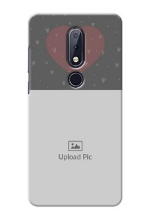 Nokia 6.1 Plus Mobile Covers: Buy Love Design with Photo Online