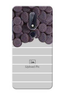 Nokia 6.1 Plus Custom Mobile Covers with Oreo Biscuit Design