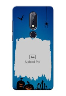 Nokia 6.1 Plus mobile cases online with pro Halloween design