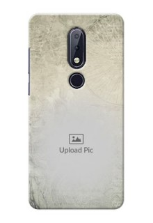 Nokia 6.1 Plus custom mobile back covers with vintage design