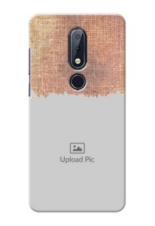 Nokia 6.1 Plus Mobile Back Covers Online with Texture Design