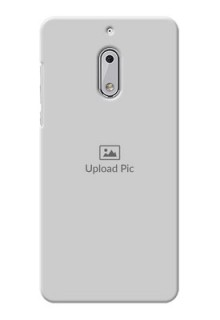 Nokia 6 Full Picture Upload Mobile Back Cover Design