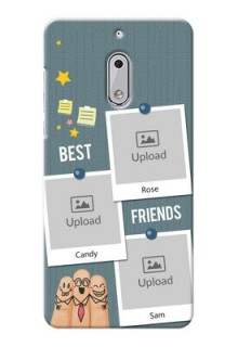 Nokia 6 3 image holder with sticky frames and friendship day wishes Design