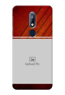 Nokia 7.1 Back Covers: Leather Phone Case Design