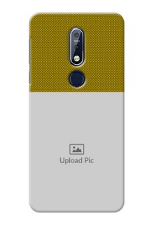 Nokia 7.1 custom mobile back covers: Simple Green Color Design