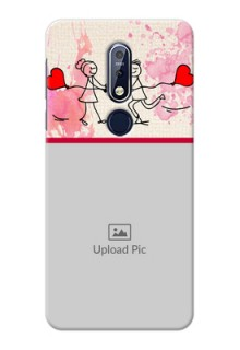 Nokia 7.1 phone back covers: You and Me Case Design