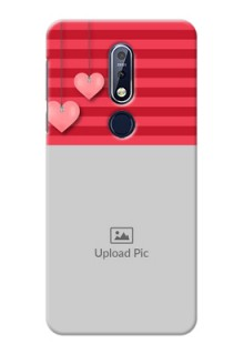 Nokia 7.1 Mobile Back Covers: Valentines Day Design