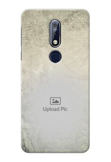 Nokia 7.1 custom mobile back covers with vintage design