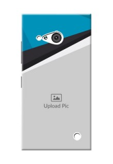 Nokia 730 Simple Pattern Mobile Cover Upload Design
