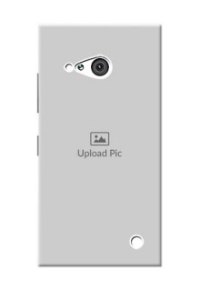 Nokia 730 Full Picture Upload Mobile Back Cover Design