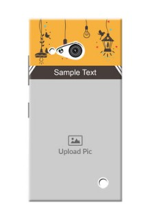 Nokia 730 my family design with hanging icons Design Design