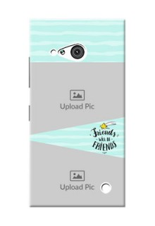 Nokia 730 2 image holder with friends icon Design