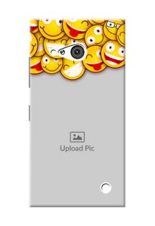Nokia 730 smileys pattern Design Design