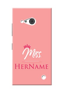 Nokia 730 Custom Phone Case Mrs with Name