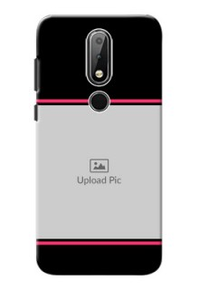 Nokia X6 Mobile Covers With Add Text Design