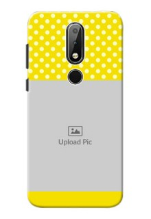 Nokia X6 Custom Mobile Covers: Bright Yellow Case Design