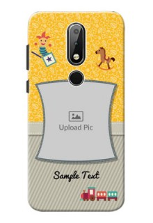 Nokia X6 Mobile Cases Online: Baby Picture Upload Design
