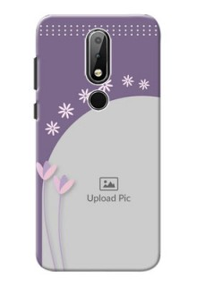 Nokia X6 Phone covers for girls: lavender flowers design