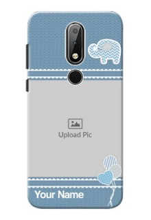 Nokia X6 Custom Phone Covers with Kids Pattern Design