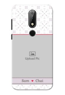 Nokia X6 Phone Cases with Photo and Ethnic Design