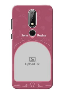 Nokia X6 mobile phone covers: Love Floral Design