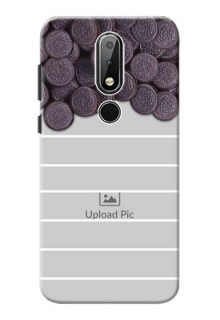 Nokia X6 Custom Mobile Covers with Oreo Biscuit Design