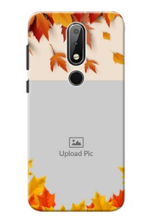 Nokia X6 Mobile Phone Cases: Autumn Maple Leaves Design