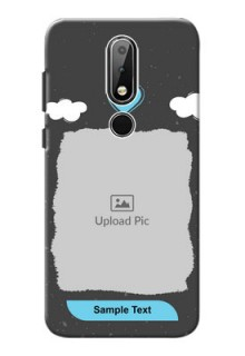Nokia X6 Mobile Back Covers: splashes with love doodles Design
