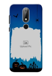 Nokia X6 mobile cases online with pro Halloween design