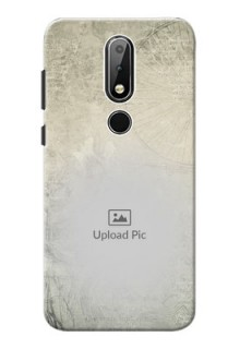 Nokia X6 custom mobile back covers with vintage design