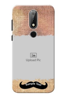 Nokia X6 Mobile Back Covers Online with Texture Design
