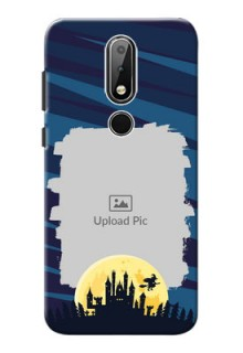 Nokia X6 Back Covers: Halloween Witch Design