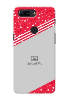 One Plus 5T Valentines Gift Mobile Case Design