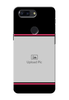 One Plus 5T Photo With Text Mobile Case Design