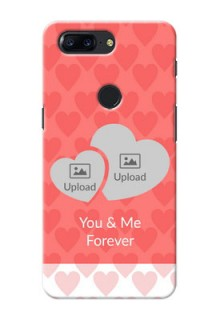 One Plus 5T Couples Picture Upload Mobile Cover Design