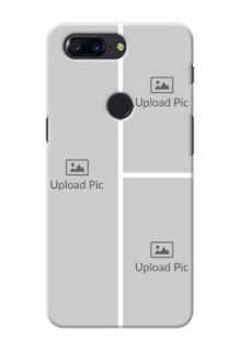 One Plus 5T Multiple Picture Upload Mobile Cover Design