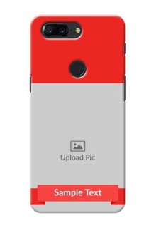 One Plus 5T Simple Mobile Case Design