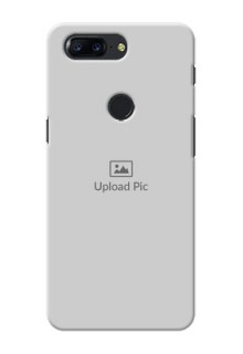 One Plus 5T Full Picture Upload Mobile Back Cover Design