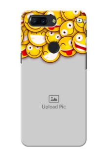 One Plus 5T smileys pattern Design