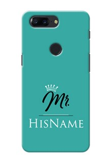 One Plus 5T Custom Phone Case Mr with Name