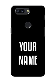 One Plus 5T Your Name on Phone Case