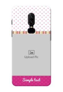 One Plus 6 Cute Mobile Case Design