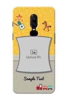 One Plus 6 Baby Picture Upload Mobile Cover Design