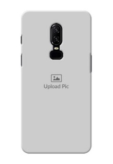 One Plus 6 Full Picture Upload Mobile Back Cover Design