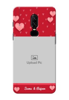 One Plus 6 valentines day couple Design