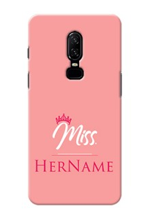 One Plus 6 Custom Phone Case Mrs with Name