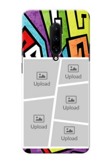 OnePlus 7 Pro Personalized Mobile Cases: graffiti pattern Design